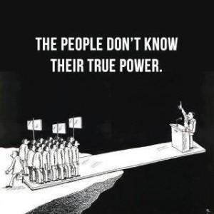 gradjani ne znaju koilika je njihova moc